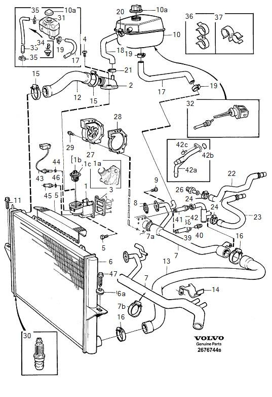 2001 volvo xc70 engine diagram