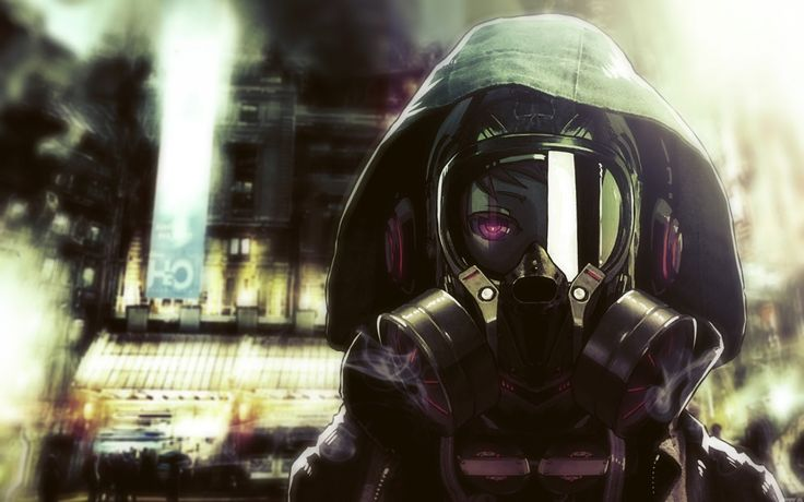 Gas Mask Girl Wallpaper 17 Best Images About Anime Girls Gas Masks On Pinterest