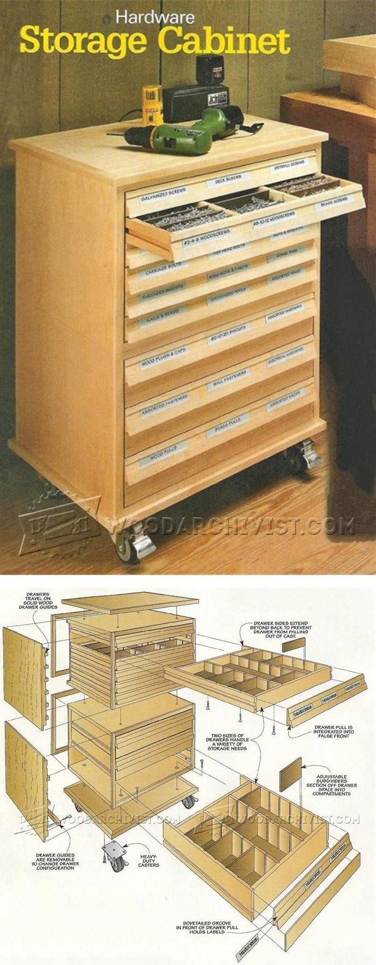 25+ best ideas about Tool storage cabinets on Pinterest