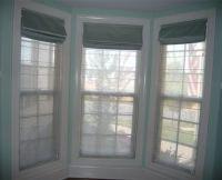 Roman, Roman blinds and Bay windows on Pinterest