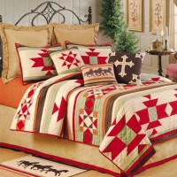 Southwest Ranch Western Quilt with Accessories $109 twin ...