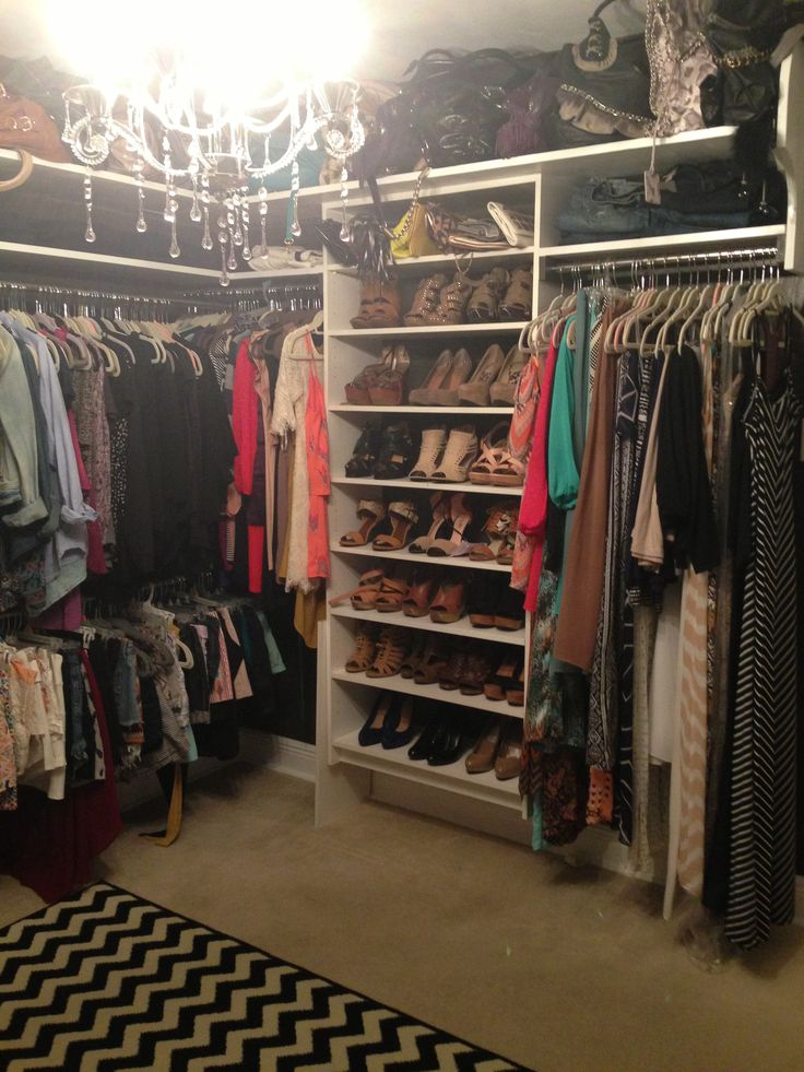 Clothing Storage Ideas For Small Bedrooms Small Bedroom Converted Into A Closet ! | So Fetch