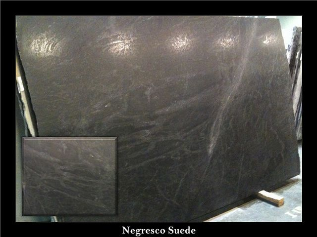 Negresco Honed Leathered Granite For Perimeter Kitchen Kitchen Negresco Suede Granite | Kitchen Countertops | Pinterest