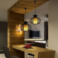 Single pendant light japanese style brief lamps coatroom ...