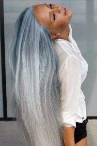 The how to steps for cool grey hair: dying your hair ...
