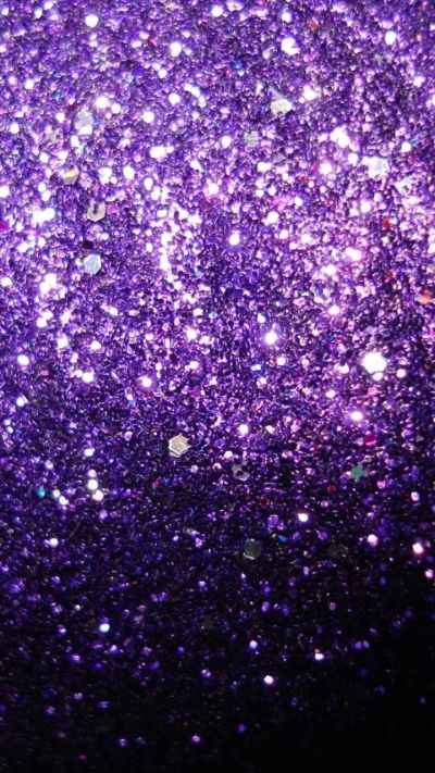 Purple Glitter | SHADES OF PURPLE | Pinterest | Girly, Wallpapers and Purple Sparkle