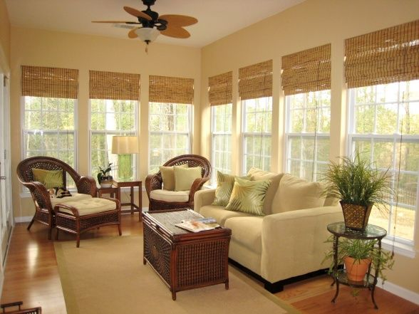 Roman shades white window frames painted walls beautiful