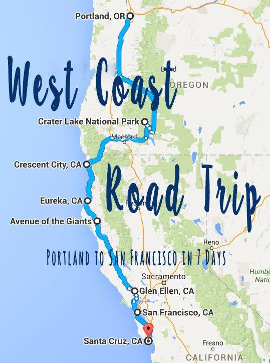 1000+ Ideas About West Coast Road Trip On Pinterest | Pacific