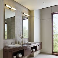 Refined yet stylish, the Lynk Bath Vanity Light ...