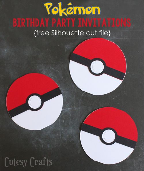 pokemon invitations printable free