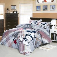 We Love Mickey Mouse Gray Disney Bedding Set | Disney room ...