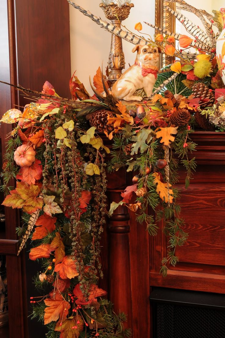 Top 100 thanksgiving mantel decorating ideas pinterest image – Thanksgiving Mantel Decorations