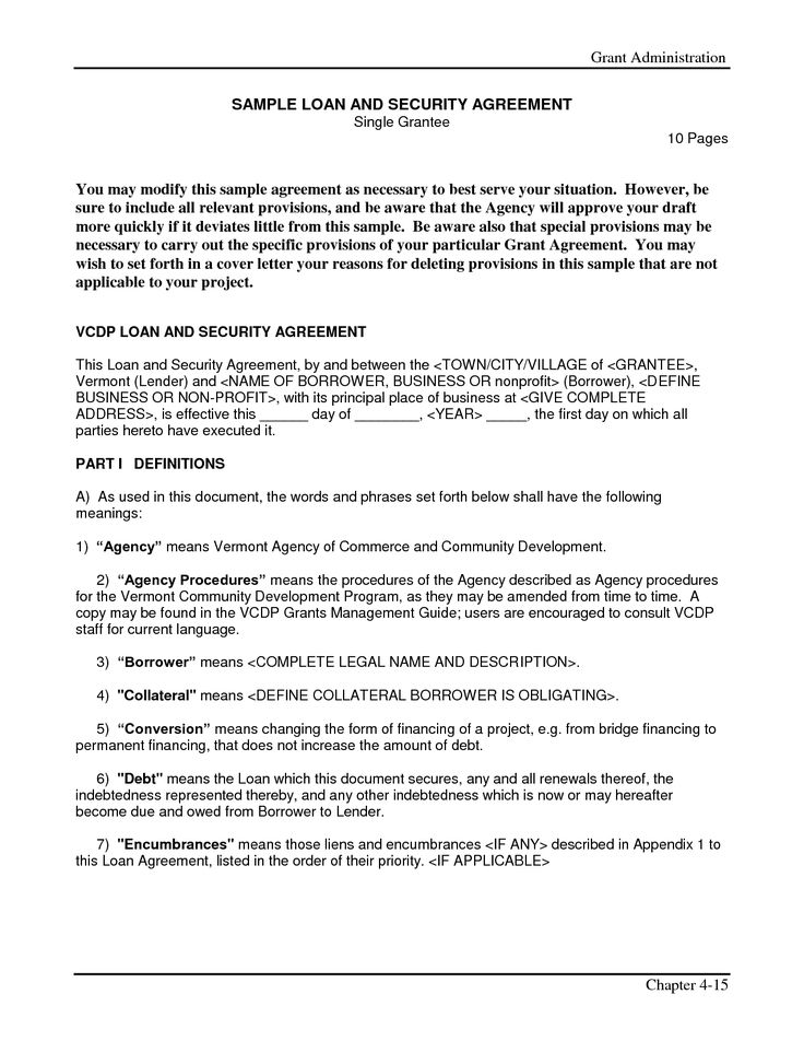 Simple Interest Loan Agreement Form – Loan Agreement Forms