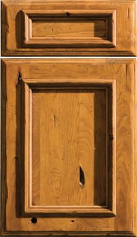 Dura Supreme's St. Augustine door style shown in Rustic ...