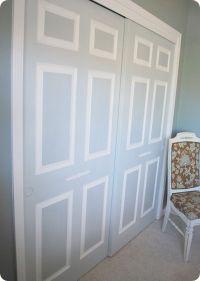 25+ best ideas about Closet doors painted on Pinterest ...