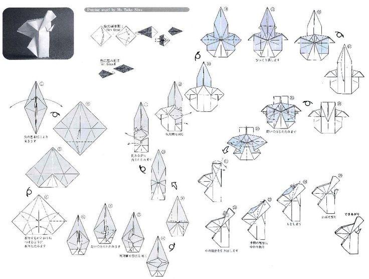 Brilliant Origami Angel Diagrams Auto Electrical Wiring Diagram Wiring 101 Mecadwellnesstrialsorg