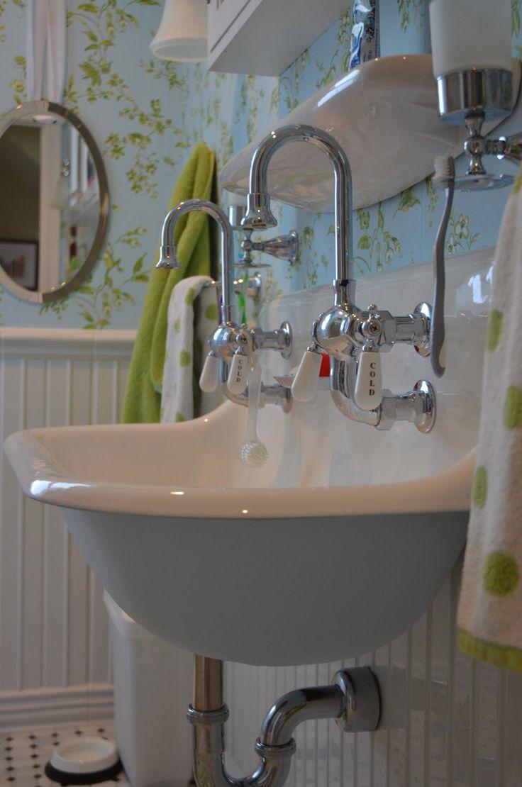Farmhouse bathroom sink vintage