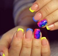 17 Best ideas about Color French Manicure on Pinterest ...