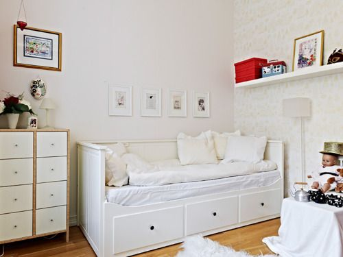 Hemnes Bedbank Ikea Hemnes Day Bed In White | Little Girl Room Update