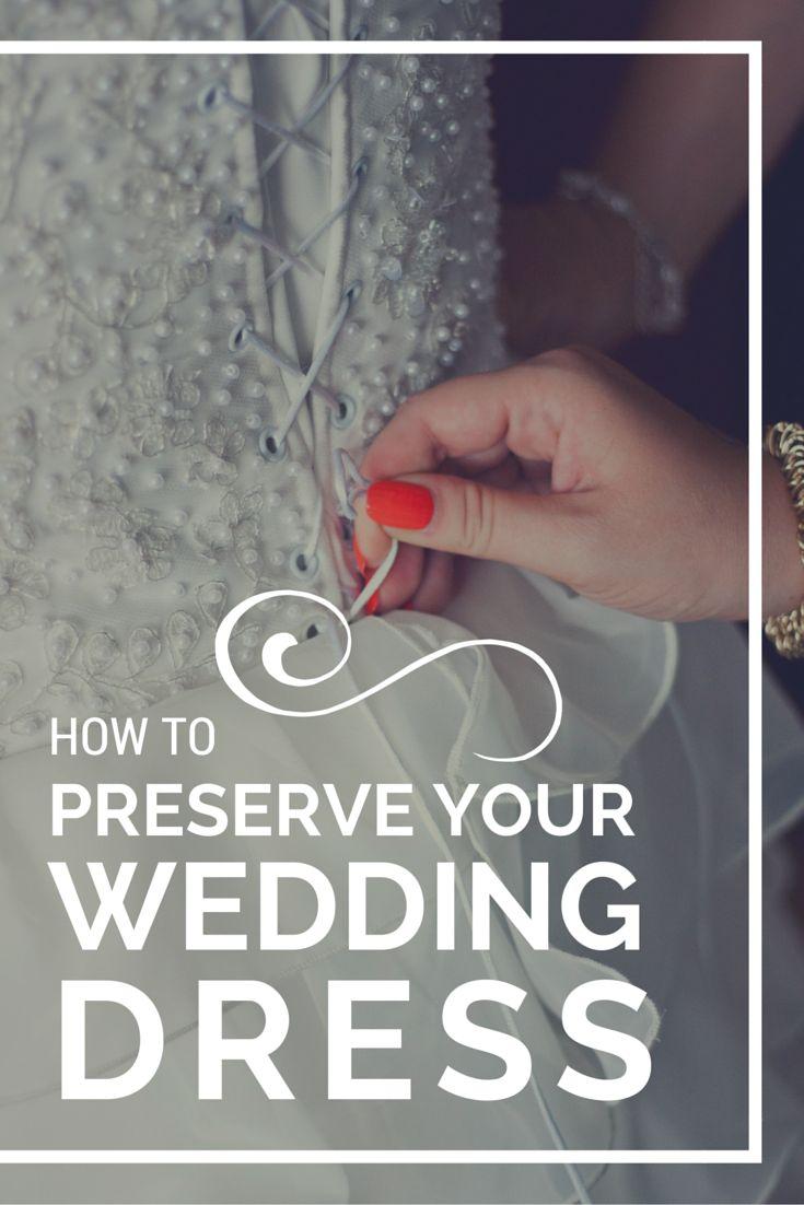 wedding dress preservation preserving wedding dress How to Make Your Wedding Dress Last Beyond Your Lifetime
