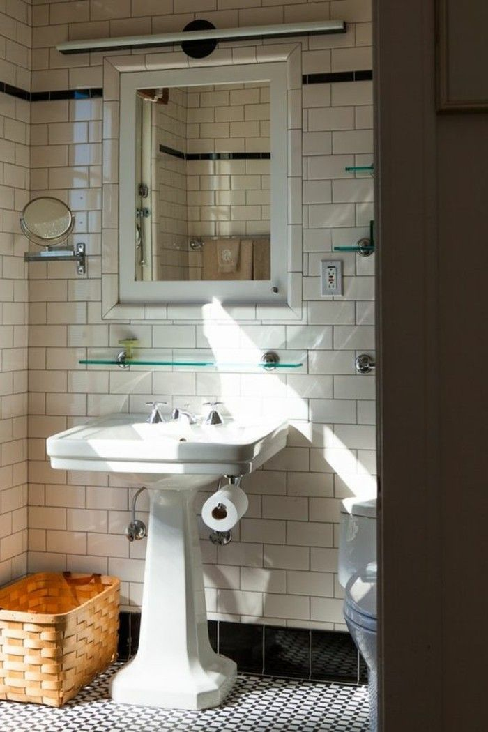 Vasque Salle De Bain Retro 1000+ Images About Salle De Bain On Pinterest | Belle