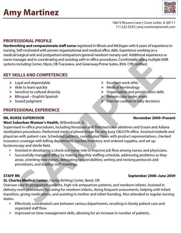 Nursing Resumes Rn Bsn Bsn Nurse Resume Example Best Sample Resume Sample Resume Rn Registered Nurse Done By Caf233; Edit