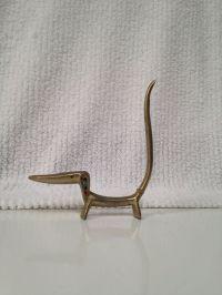 Brass Dachshund Weiner Dog Jeweled Ring Holder | Brass ...