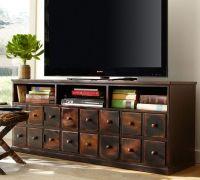 Great idea for TV console | Decorating Ideas | Pinterest
