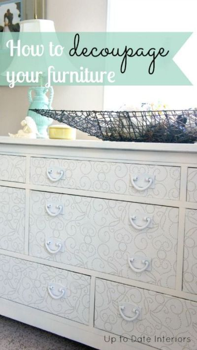 17 Best ideas about Wallpaper Furniture on Pinterest   Diy chest of drawers, Quirky bedroom and ...