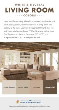 Living Room Color Schemes Pinterest