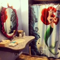 Little Mermaid themed bathroom | Disney  | Pinterest ...