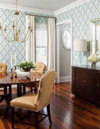 25+ Best Ideas about Dining Room Wallpaper on Pinterest