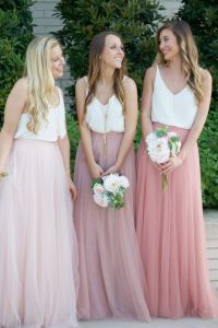 25+ best ideas about Tulle skirt bridesmaid on Pinterest ...