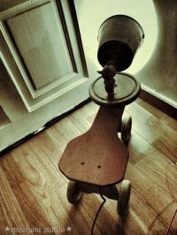 17+ ideas about Recycled Lamp on Pinterest | Lamp ideas ...