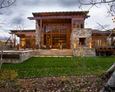 Rustic Stone House Plans   Rustic Exterior Home Designs ...