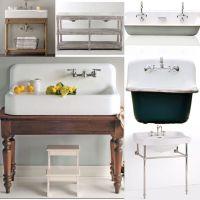 Vintage Bathroom Vanity Sink Cabinets. Adelina Inch ...