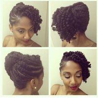 Perfect Wedding day style - natural black hair | Wedding ...