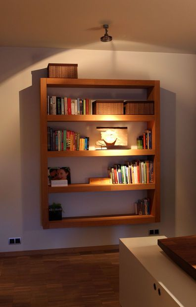 Wall Mounted Bookshelf Plans Woodworking Projects Plans