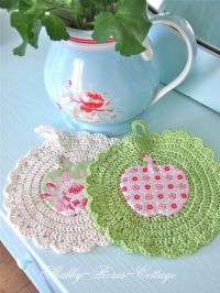 Crochet & Knitted - Potholders Round: 10+ handpicked ideas ...