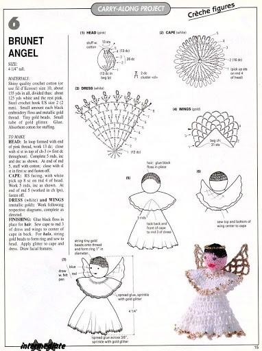 diagram c christmas tree crochet pinterest