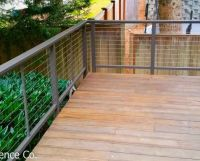 25+ best ideas about Stainless steel cable railing on ...