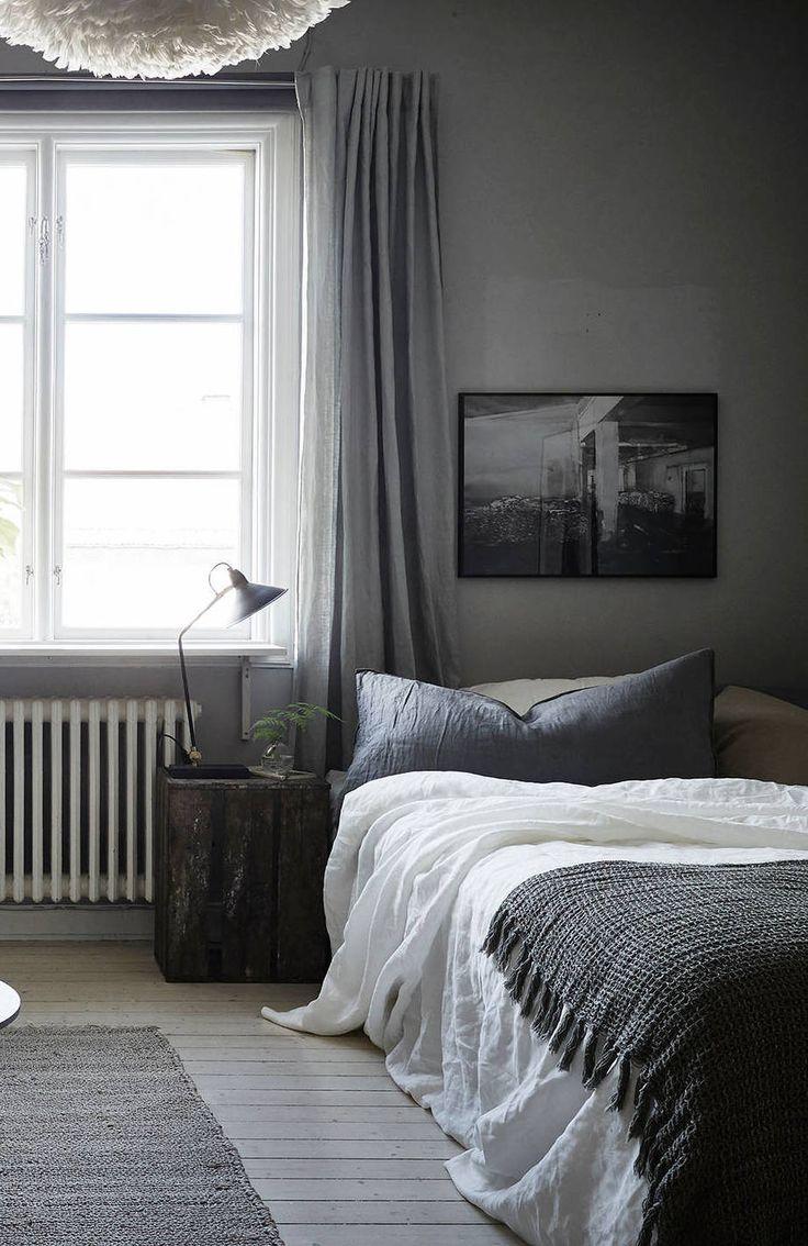 Cozy grey home via cocolapinedesign com