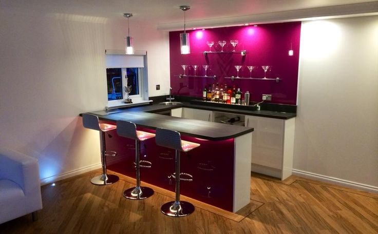 Kitchen Island Counters A Little Bit Of Luxury...a Home Bar! Designed, Supplied