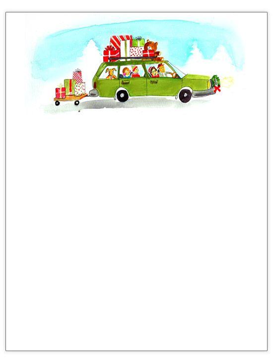 Doc#550733 Christmas Letter Template u2013 25 best ideas about - christmas letterhead templates word