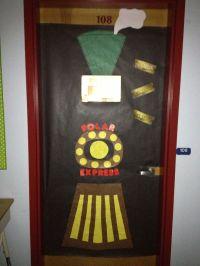 Polar Express Classroom door design | Door decorating ...