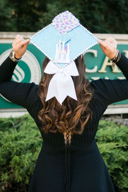 Medium Of Disney Graduation Cap