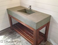 25+ best ideas about Concrete sink on Pinterest   Concrete ...