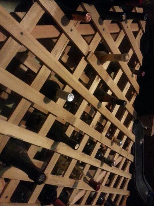 Homemade Wine Rack Wine Racks Pinterest Homemade