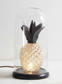 Antique Brass Pineapple Cloche Table Lamp - BHS ...