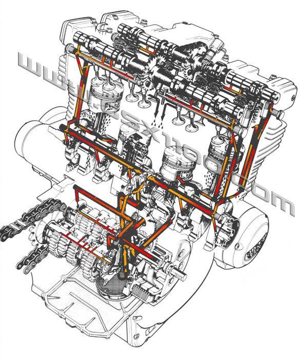 1999 gsxr 750 engine diagram